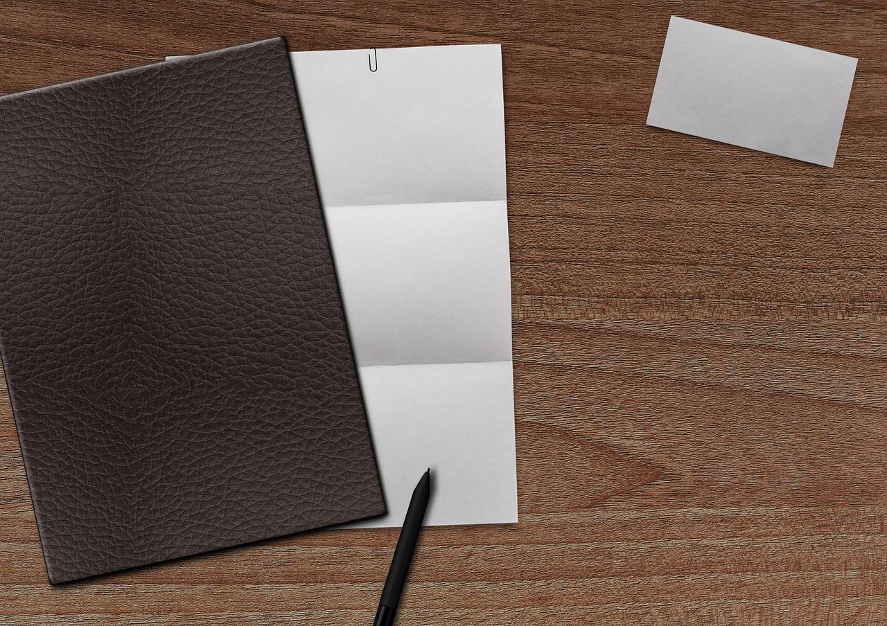 Paper Business Card Coolie Pen  - DarkmoonArt_de / Pixabay